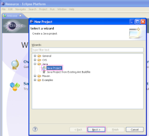 Create new webdriver project in eclipse